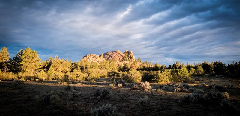 Tres Piedras sunrise. September 2018.