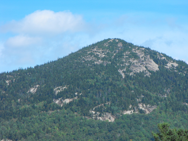 A more distant view of Main Summit .... lots of rock