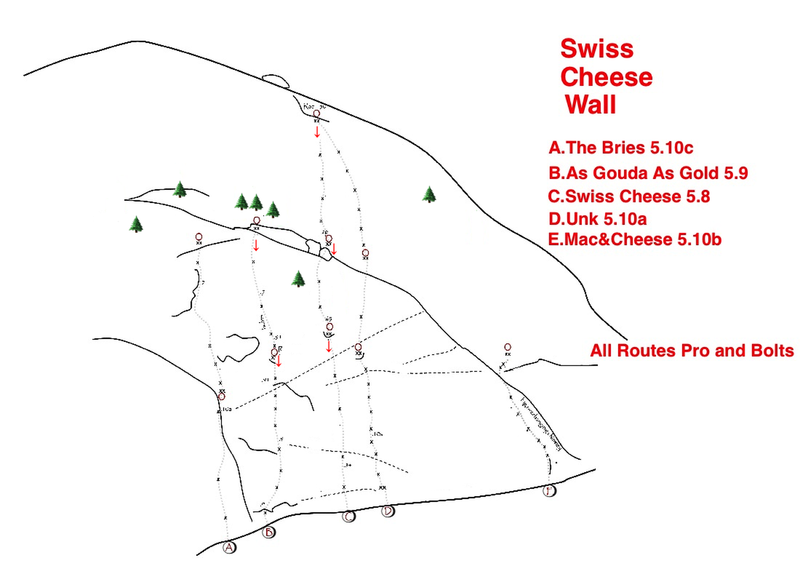 Topo to Swiss Cheese Wall