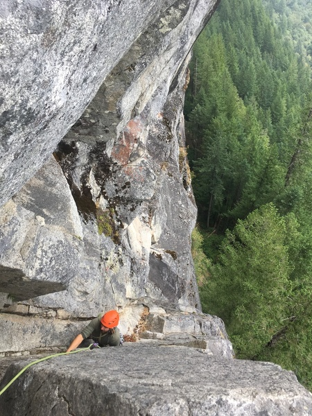 Topping out pitch 2