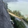 Do you like traverses and milky blue views of Howe Sound? Then this is your climb.