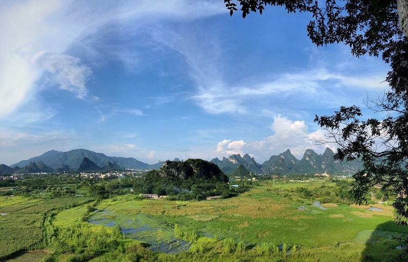 View From one of Guilin City's Crags