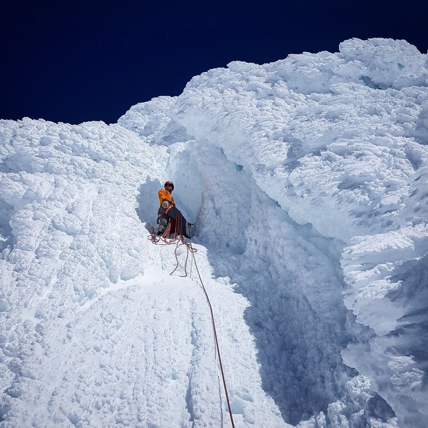 SE Buttress in more typical winter conditions