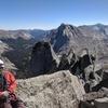 Pingora and the east ridge from the peak.