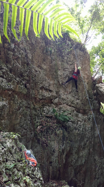 nearing the top of Polen 5.6