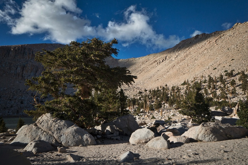 Chickenspring Lake - Southern boundary of the High Sierra.