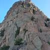 The ridge above 5th Avenue