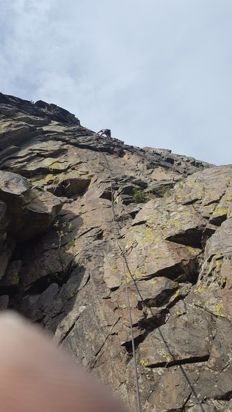 2nd ascent of Monoped, 6/1/2017.