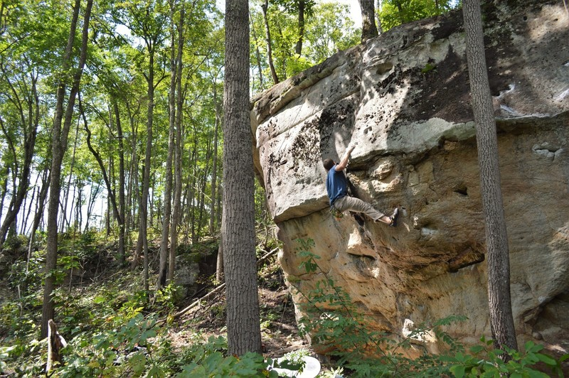 """Marshall Gilbert on the 2nd ascent of """"Wish you Well"""""""