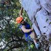 Climbing with MUFA (Marquette University) on our first club trip of the year!