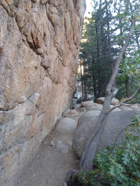 The Hungover Wall, Keller Peak