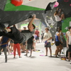 Bouldering at Richmond Rumble Comp