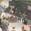 Bouldering at Richmond Rumble Comp