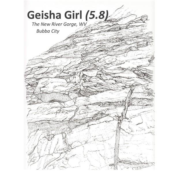 Geisha Girl by @drawingsfordirtbags