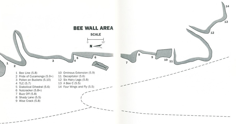 Bee Wall - Scanned with permission from copyright owner