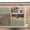 Trailhead sign at the lower Los Morteros Hohokam Village site