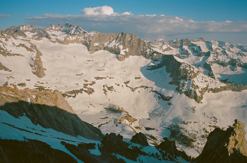 Triple Divide, Stewart, Eagle Scout Peak, & Kaweahs