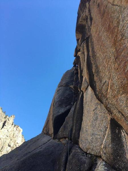 High up on the Black Dihedral (P4).