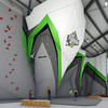 Phase II of construction includes speed climbing areas.