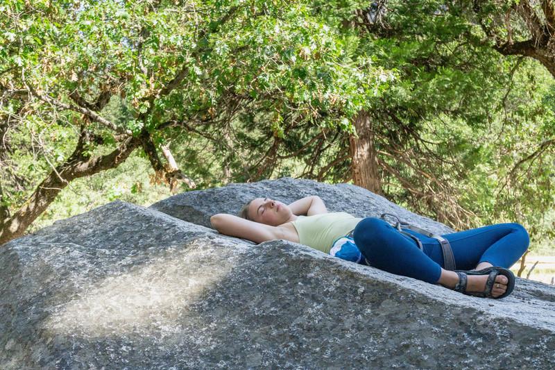 Taking a nap before Oak Tree Flake<br> <br> Photo by:<br> Dalton Johnson<br> @daltonjohnsonmedia<br> www.daltonjohnsonmedia.com