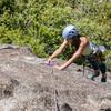 Unclipping the bolt on Knob Hill<br> <br> Photo by:<br> Dalton Johnson<br> @daltonjohnsonmedia<br> www.daltonjohnsonmedia.com