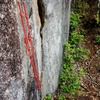 Anchor at top of Pitch 4. You can rap the route with a single 70.