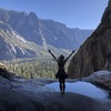 Taken in October, after the water is low. Yosemite Falls pools are so beautiful. A nice prize at the end of the climb.