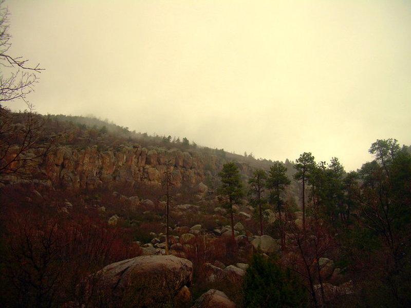 Foggy day in Middle Elden