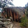 Hotdish Boulder.