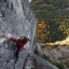 finding the rest before launching into the crux reach