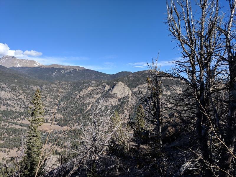 McGregor Slab as seen from high on Deer Ridge.