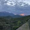 Sunset on Montserrat