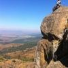 Execution Rock, just beneath the summit; Mlilwane Wildlife Sanctuary