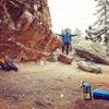 80s in the valley. Snowing on Flagstaff.  Gotta love Boulder weather.
