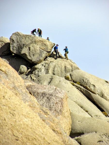 Buttermilk climbers.<br> <br> Buttermilk climbers.