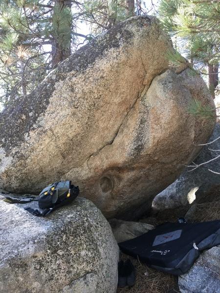 Low Hueco Boulder