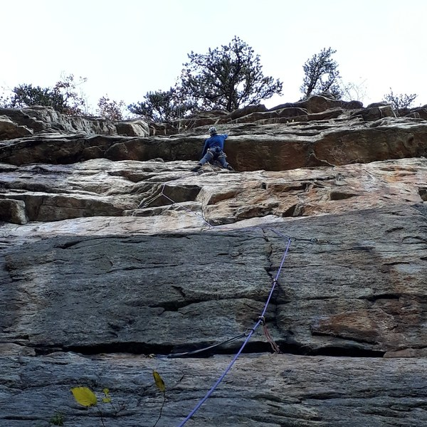 Jug hold after crux