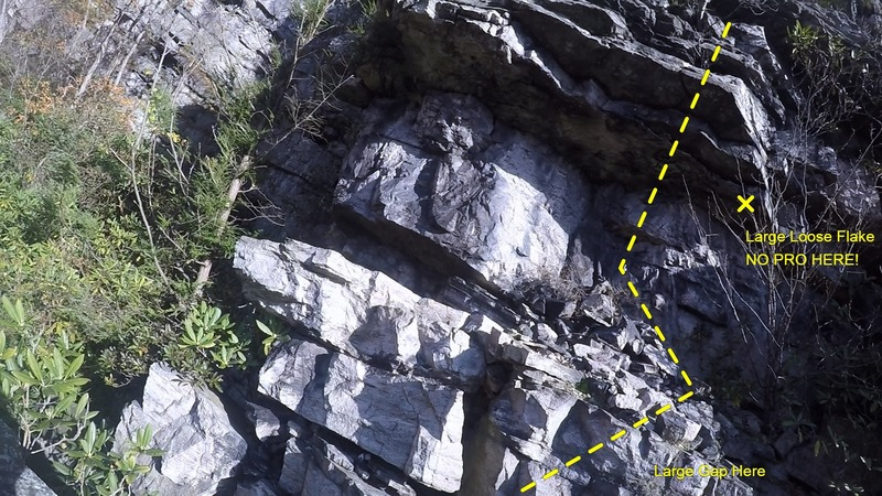 4. On first ledge of first roof to second roof (watch the loose rock!)