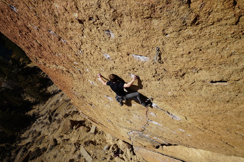 Doesn't get much better than this.  Climber: Brian