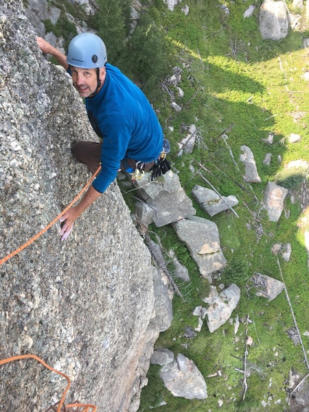 Always fun getting Scott on routes he didn't manage to climb here back in the 80s