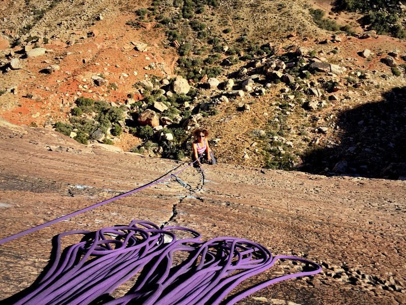 Justthemaid pulling onto the final slab crack.