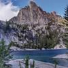 Prusik Peak across Lake Viviane
