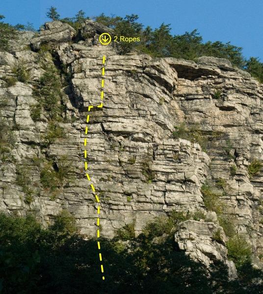 Left Pick General Route based off Indy's Online Guide Description