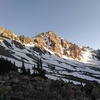 Whitetail Peak from Shadow Lake, June 2018