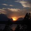 Sunset - Mt Moran and Jackson Lake