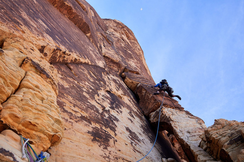 Pitch 8, Epinephrine, Red Rocks. Photo by JH.