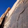 Pitch 2, Solar Slab, Red Rocks. Photo by JH.