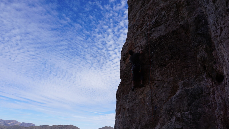HD on the first ascent.