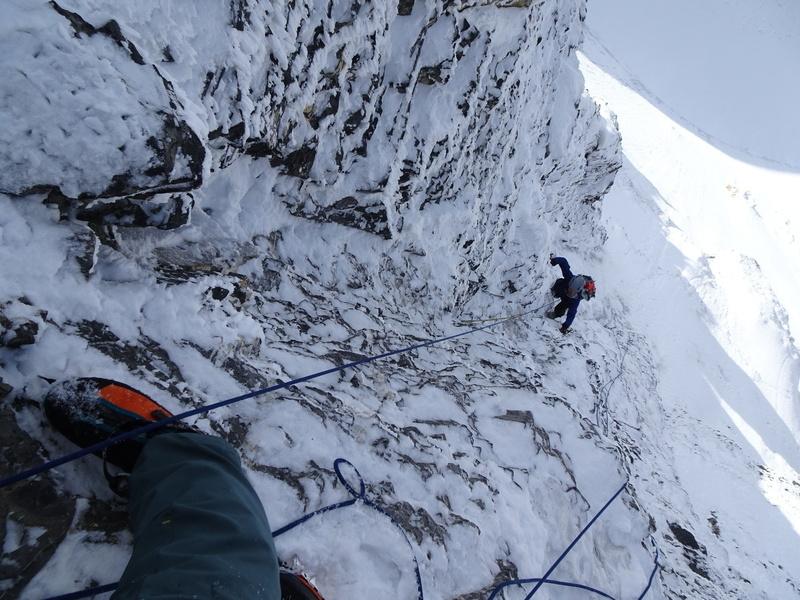 totally ballin' roadside mountain climbing!