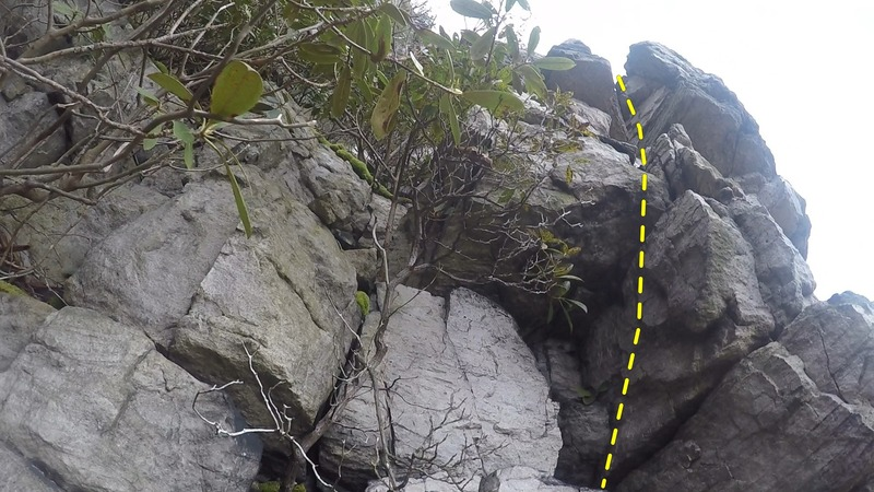2nd part of 10-foot tackle through notch